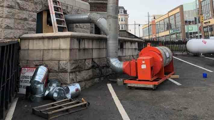 BABFAR heaters remediate hazardous materials